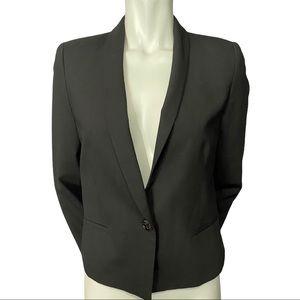 Judith & Charles Black Wool Blend Blazer Size 8